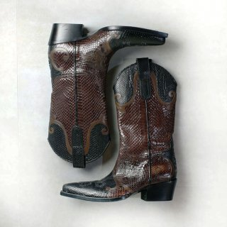 EARLY00's GUCCI by Tom ford , python western boots