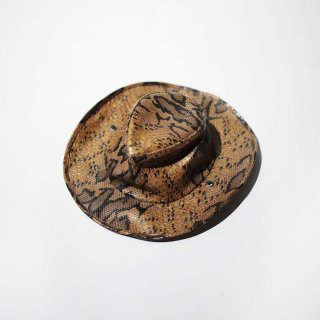 old faux python hat