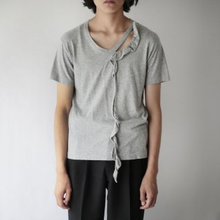 OLD COMME des GARCONS HOMME PLUS frill cutsew