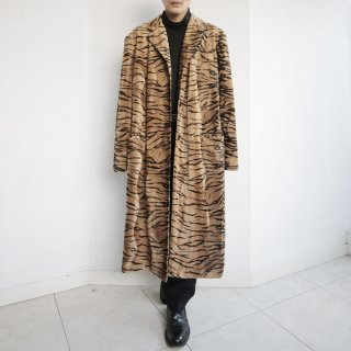 old faux animal coat
