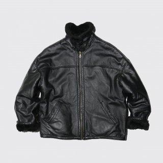 old Wilson faux mouton jacket