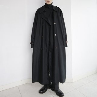 old super long trench coat , with liner