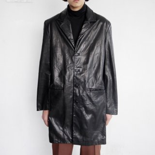 old leather chesterfield coat