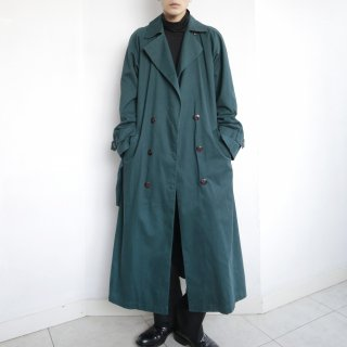 old super long double breasted coat , with liner
