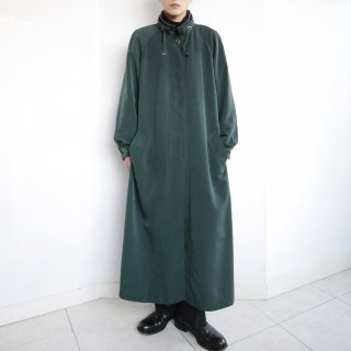 old corded stand collar coat , with liner