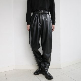 old pvc leather trousers