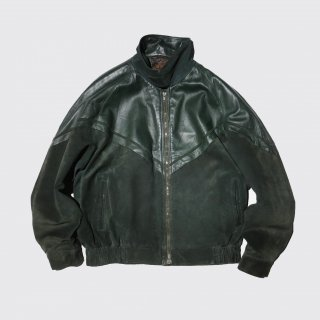old suede mix leather jacket