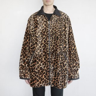 old faux fur reversible jacket