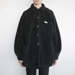 old boa shirt jacket