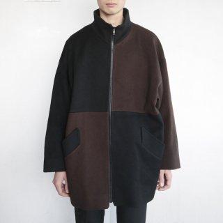 old 2tone wool jacket