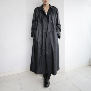 old python poly trench coat