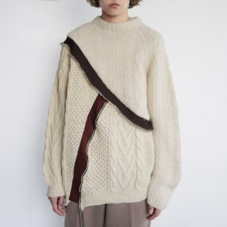 remake docking college alan sweater