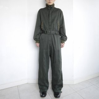 old belted jump suits