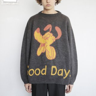 old Pluto sweater