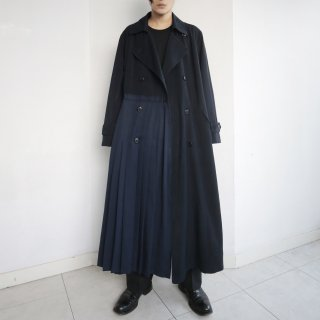 remake asymmetry trench coat