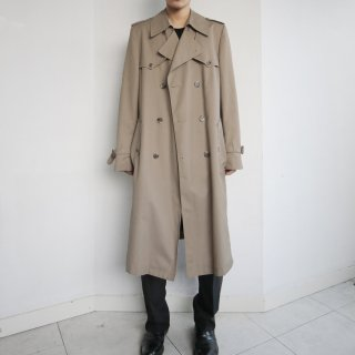 old Dior double gun frap trench coat