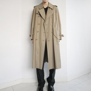 old Burberry's nova check trench coat