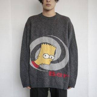old Bart Simpson sweater