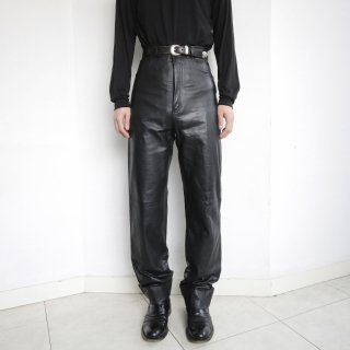 old 5p leather trousers