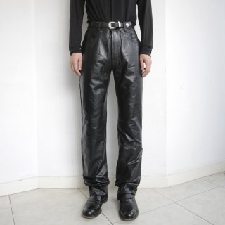 old Harley Davidson 5p leather trousers