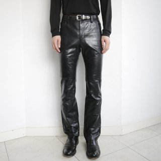 old GAP 5p leather trousers