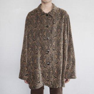 old paisley loose gobelin shirt
