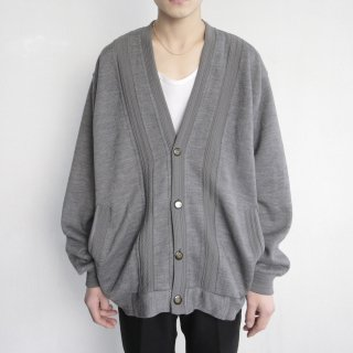 old line loose cardigan