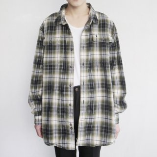 old Carhartt loose omble check shirt