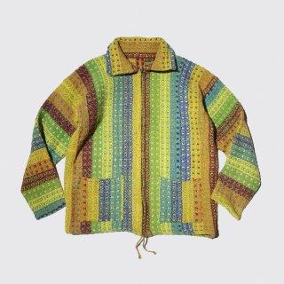 vintage crazy pattern Mexican jacket