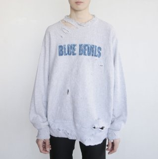 boro custom sweat , Blue Devil