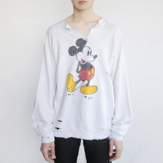 boro custom sweat , Mickey