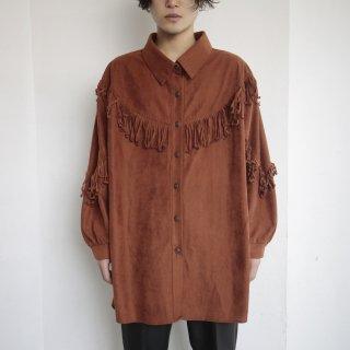 old carly fringe shirt