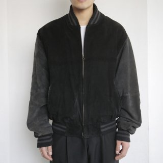 old elbow patch suede jacket