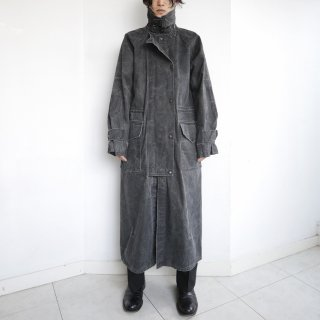 old canvas duster coat