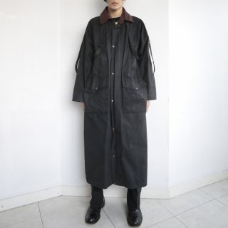 old harness duster coat