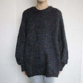 old loose mohair sweater