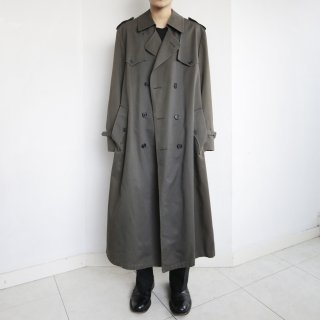old Dior double gun flap trench coat