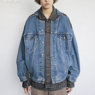 remake docking buggy trucker jacket