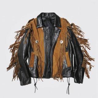 vintage fringe riders jacket