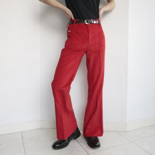 vintage corduroy flare trousers