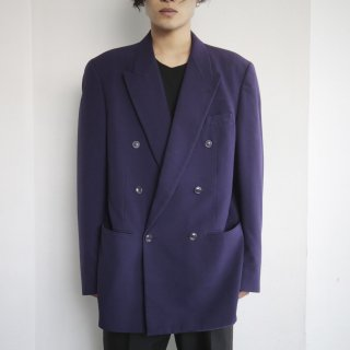 old double breasted tailored jacket