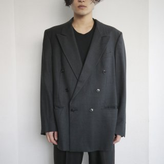 old Dior double breasted check tailored jacket