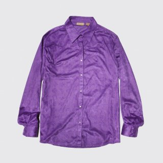 old wrangler faux suede western shirt