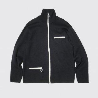 vintage knit track jacket
