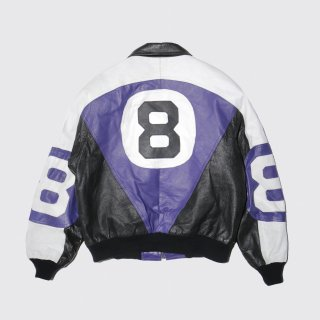 vintage eight ball leather jacket