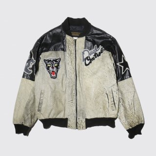 vintage panthers bomber jacket