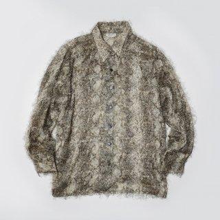 vintage python shaggy shirt