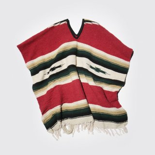 vintage rag poncho