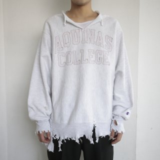 boro custom sweat , body-replica reverse weave , aquinas college