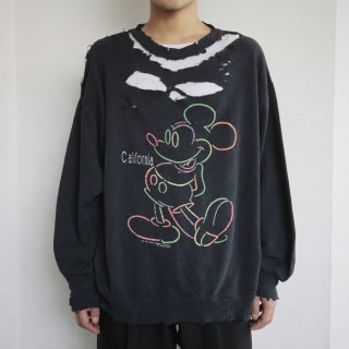 boro custom sweat , mickey by velva sheen
